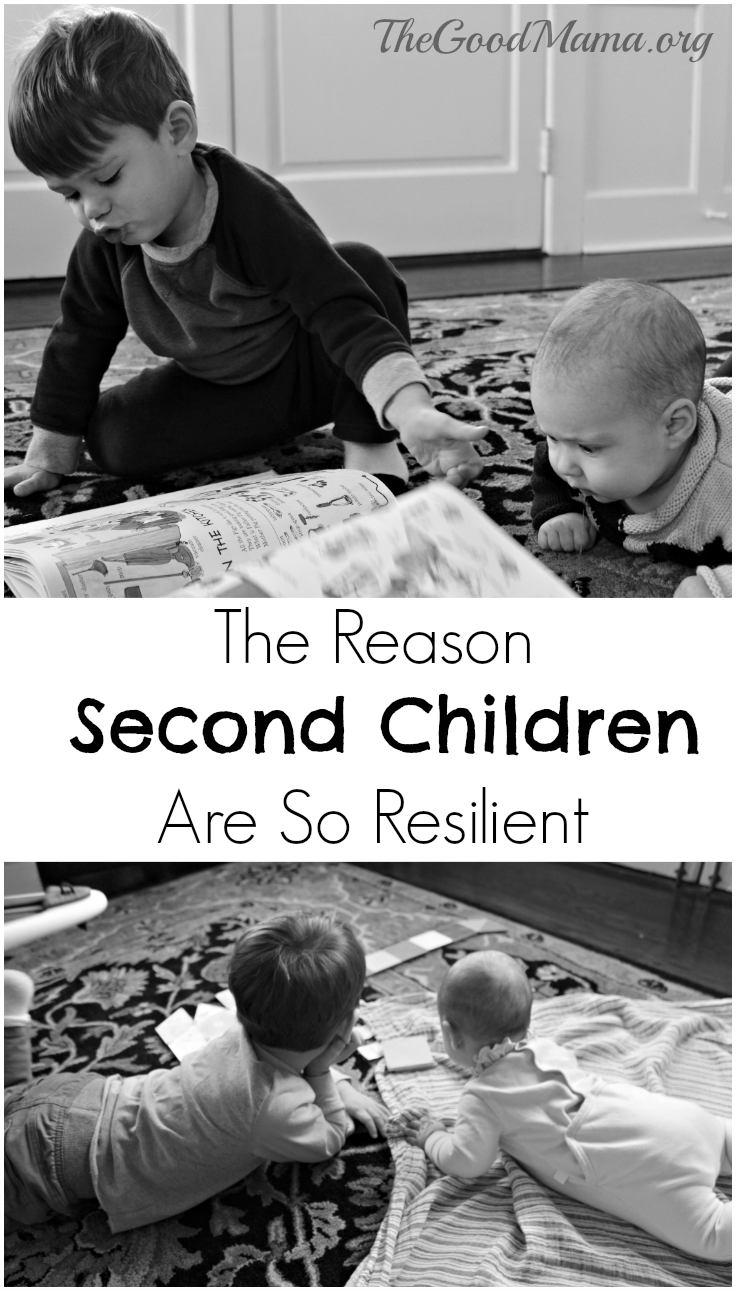The Reason Second Children are so resilient