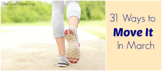 31 Ways to Move It In March PLUS free calendar