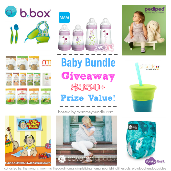 Baby Bundle Giveaway! Over $350 worth of prizes!