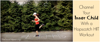 Channel Your Inner Child with a Hopscotch HIIT Workout