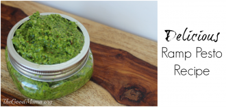 Delicious Ramp Pesto Recipe