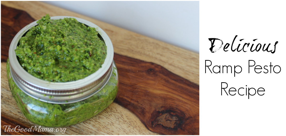 Delicious Ramps Pesto Recipe - The Good Mama
