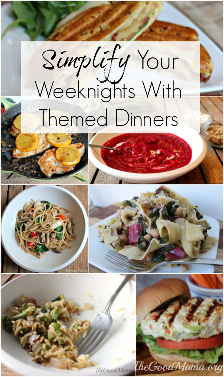 Simplify Your Weeknights with Themed Dinners