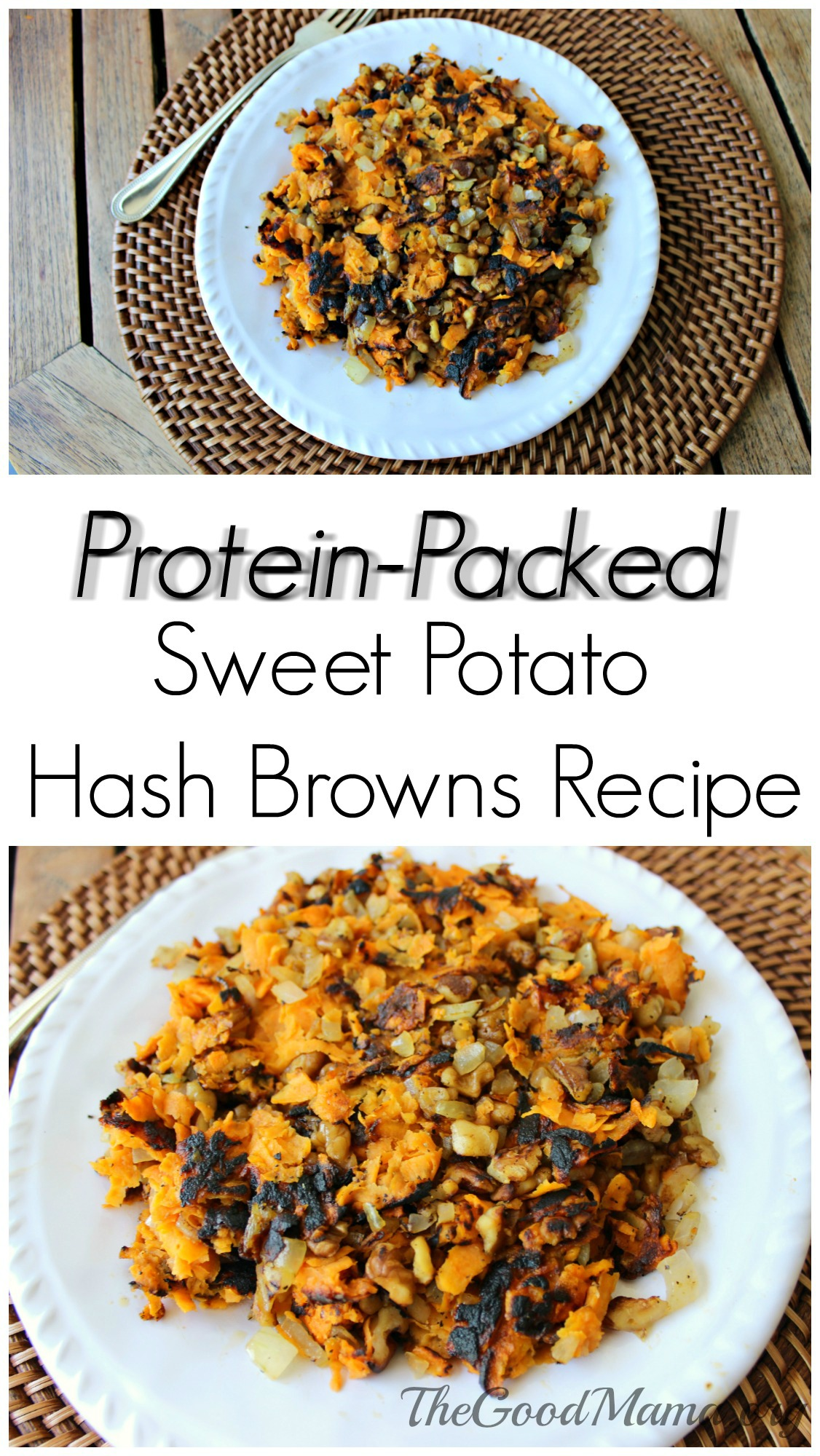 Protein-Packed Sweet Potato Hash Browns Recipe