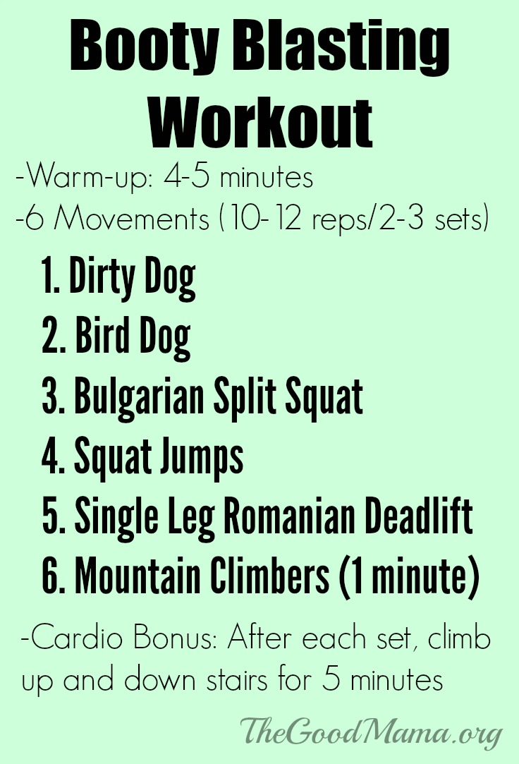 Booty Blasting Workout- Do you have Dormant Butt Syndrome?