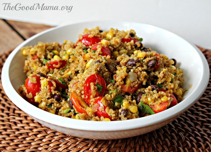 Quinoa Taco Bowls Recipe