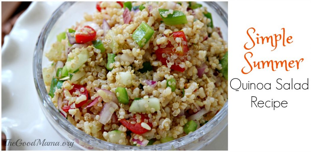 Simple Summer Quinoa Salad Recipe