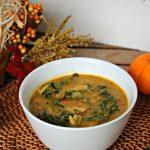 Pumpkin & Kale Soup Recipe